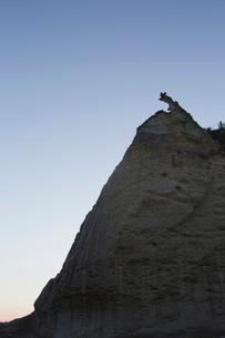 奇岩立ち並ぶ仏ヶ浦の風景の写真素材 [FYI03014457]
