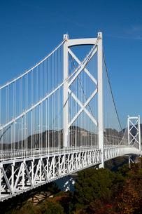 しまなみ海道を構成する因島大橋の写真素材 [FYI03014640]