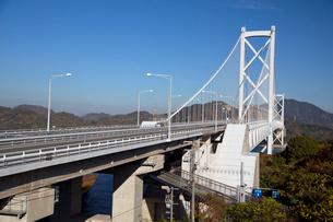 しまなみ海道を構成する因島大橋の写真素材 [FYI03014645]