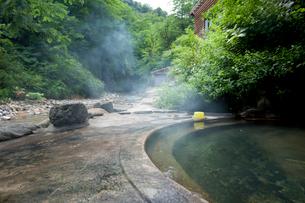 夏油温泉の疝気の湯の写真素材 [FYI03014813]