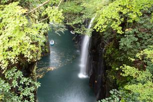 高千穂峡の真名井の滝の写真素材 [FYI03014858]