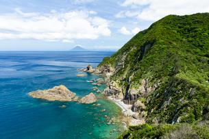 九州最南端の佐多岬展望台の写真素材 [FYI03017335]