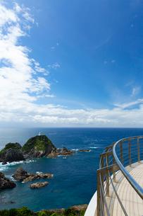 九州最南端の佐多岬展望台の写真素材 [FYI03017358]