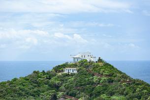 九州最南端の佐多岬展望台の写真素材 [FYI03017361]