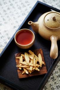 漢方茶の写真素材 [FYI03017719]
