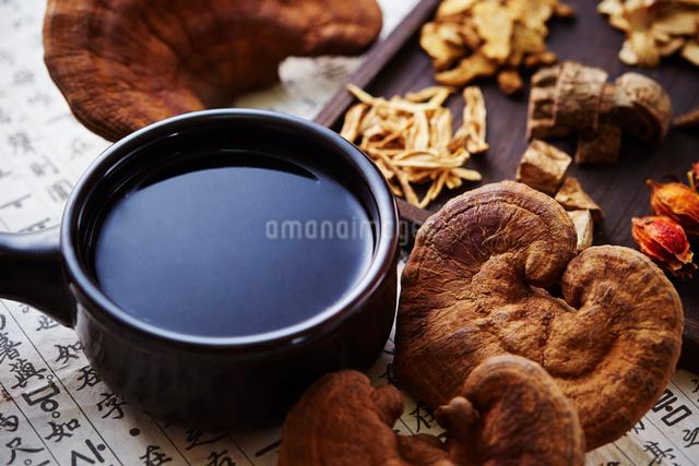 漢方茶の写真素材 [FYI03017724]