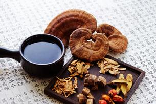 漢方茶の写真素材 [FYI03017725]