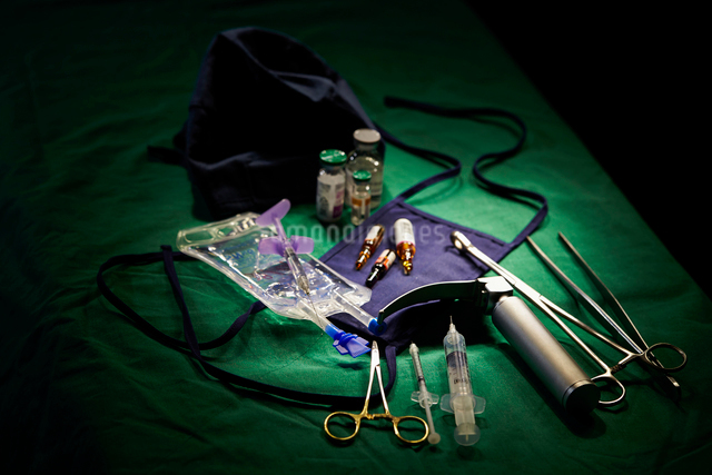 手術イメージの写真素材 [FYI03017996]