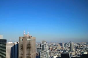 東京都庁から見たスカイツリー方面の写真素材 [FYI03018116]