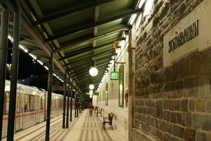 シェーンブルン駅の写真素材 [FYI03018228]