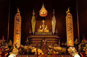 タイ チェンライ ワット・プラケオの写真素材 [FYI03018306]