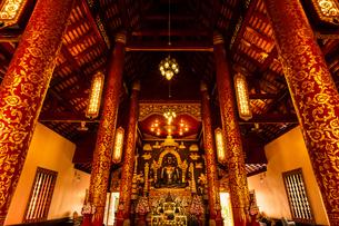 タイ チェンライ ワット・プラケオの写真素材 [FYI03018307]