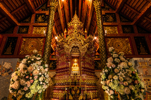 タイ チェンライ ワット・プラシンの写真素材 [FYI03018309]