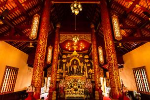 タイ チェンライ ワット・プラケオの写真素材 [FYI03018313]
