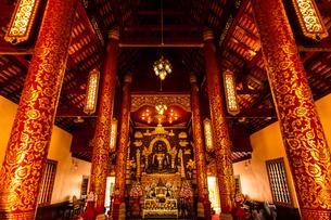 タイ チェンライ ワット・プラケオの写真素材 [FYI03018314]
