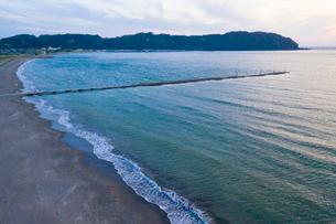 原岡桟橋からの空撮写真の写真素材 [FYI03018360]