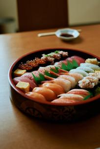 寿司の写真素材 [FYI03018609]