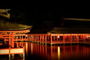 宮島 厳島神社の写真素材 [FYI03024226]
