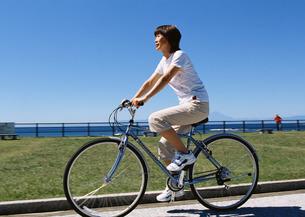 サイクリングの写真素材 [FYI03024775]