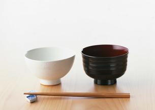 飯碗と汁碗の写真素材 [FYI03026088]