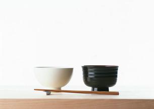 飯碗と汁碗の写真素材 [FYI03026089]