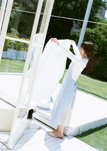 洗濯の写真素材 [FYI03026133]