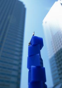 ビジネス都市イメージの写真素材 [FYI03026826]