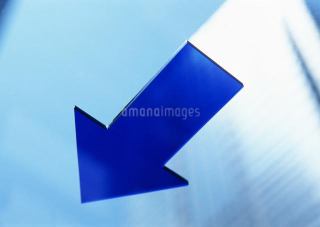 矢印イメージの写真素材 [FYI03026827]