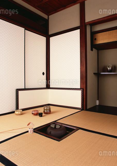 茶室の写真素材 [FYI03027756]