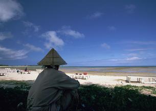 砂浜の写真素材 [FYI03027828]