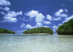 小島と海の写真素材 [FYI03027906]