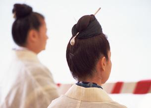祭りの女性の写真素材 [FYI03027963]