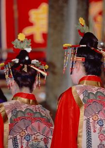 祭りの女性の写真素材 [FYI03027973]
