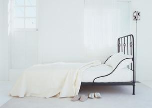 ベッドルームの写真素材 [FYI03028151]