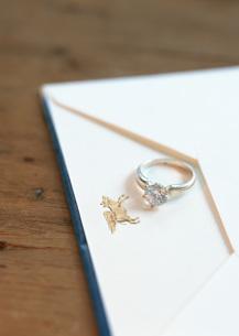 指輪の写真素材 [FYI03029011]