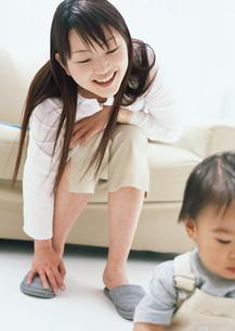 母と子の写真素材 [FYI03029226]