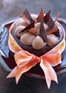 チョコレートケーキの写真素材 [FYI03029536]