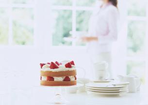 イチゴショートケーキの写真素材 [FYI03029547]