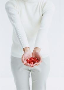 ハート形チョコレートの写真素材 [FYI03029576]