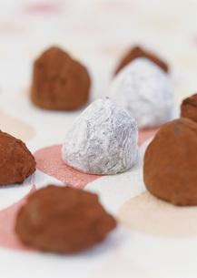 トリュフチョコレートの写真素材 [FYI03029587]