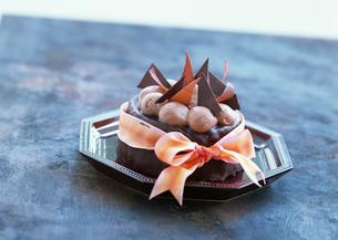 チョコレートケーキの写真素材 [FYI03029595]