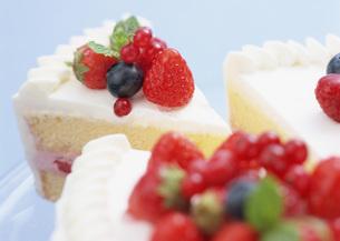 ベリーショートケーキの写真素材 [FYI03029683]