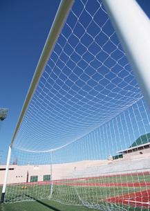 サッカーゴールの写真素材 [FYI03029906]