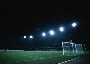 サッカーフィールドの写真素材 [FYI03029925]