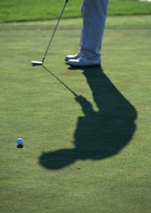 ゴルフ(パット)の写真素材 [FYI03029946]