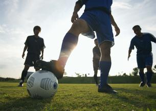 サッカーの写真素材 [FYI03030027]