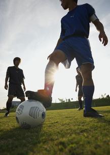 サッカーの写真素材 [FYI03030035]