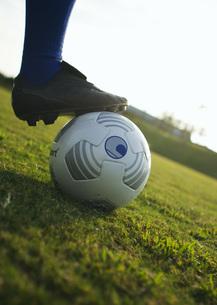 サッカーボールの写真素材 [FYI03030039]