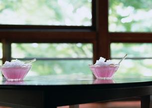 かき氷(イチゴ)の写真素材 [FYI03030797]
