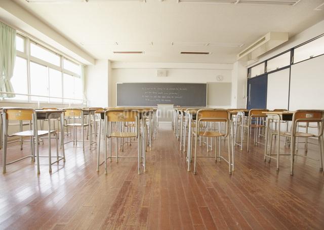 教室の写真素材 [FYI03031693]